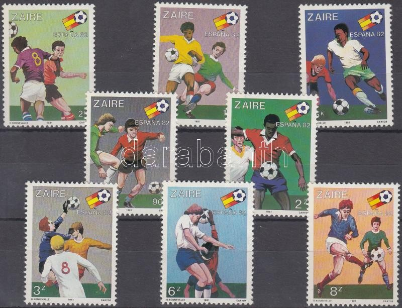 Football World Cup set, Labdarúgó VB sor