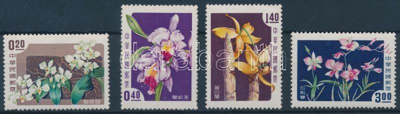 Orchidea, Flower set, Orchidea, Virág sor