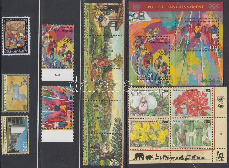 14 diff. stamps, with relations + 1 block, 14 klf bélyeg, közte összefüggések + 1 blokk