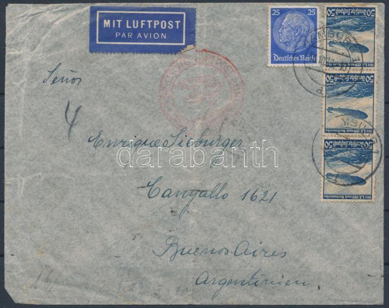 Airmail to Argentina, Légi levél Argentínába