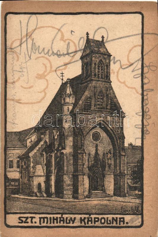Kosice, chapel, s: Lesskó L., Kassa, Szent Mihály kápolna, s: Lesskó L.