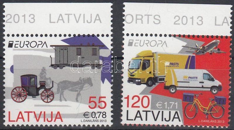 Europa CEPT Postal vehicles margin, Europa CEPT Postai járművek ívszéli