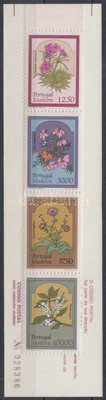 Flowers stamp-booklet, Virágok bélyegfüzet