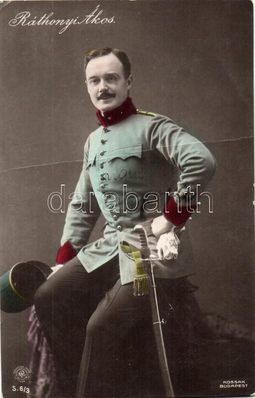 Ráthonyi Ákos Hungarian actor, Ráthonyi Ákos