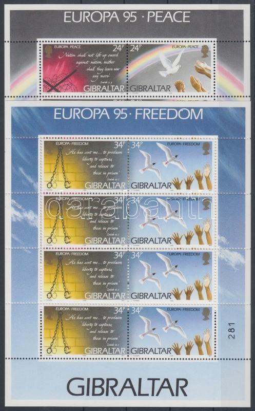 Europe CEPT minisheet set, Europa CEPT kisív sor