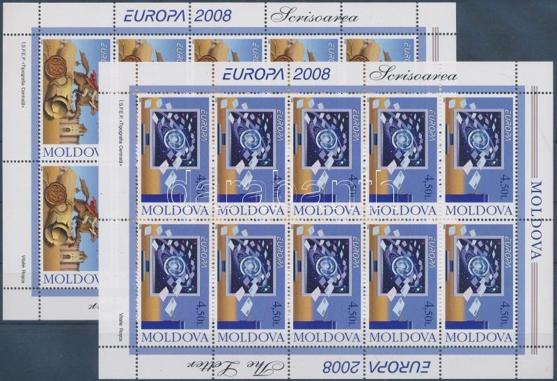 Europa CEPT a levél kisívsor, Europe CEPT the letter minisheet set
