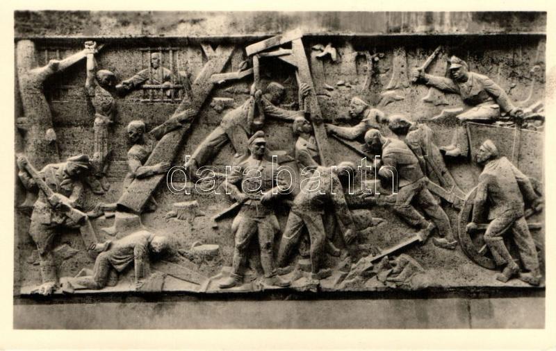 Buchenwald, Nr. 2. Mahn- und Gedenkstätte, Aufbau des Lagers, Stele Nr. 1. / construction of the camp, Ernst Schafer photo