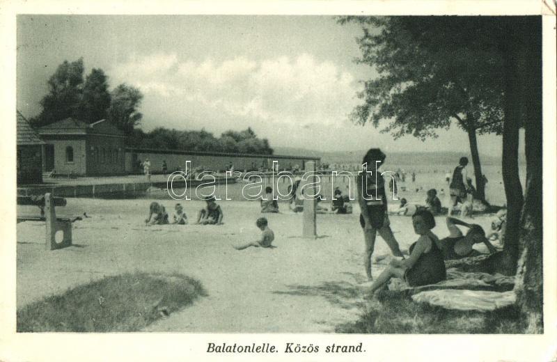 Balatonlelle, Közös strand