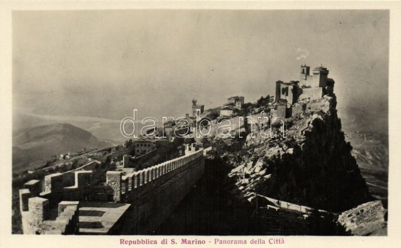 San Marino, fortress
