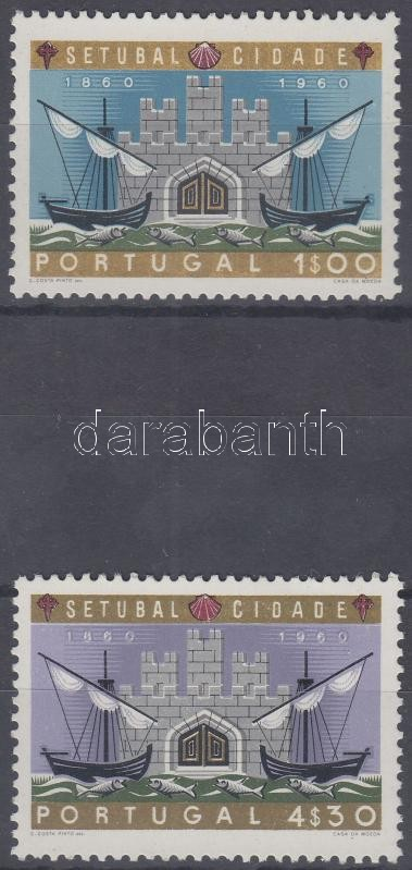 Centenary of Setubal set, 100 éves Setubal város sor