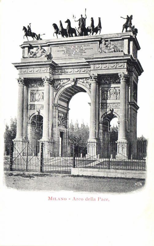 Milano, Milan; Arco della Pace / Arch of Peace