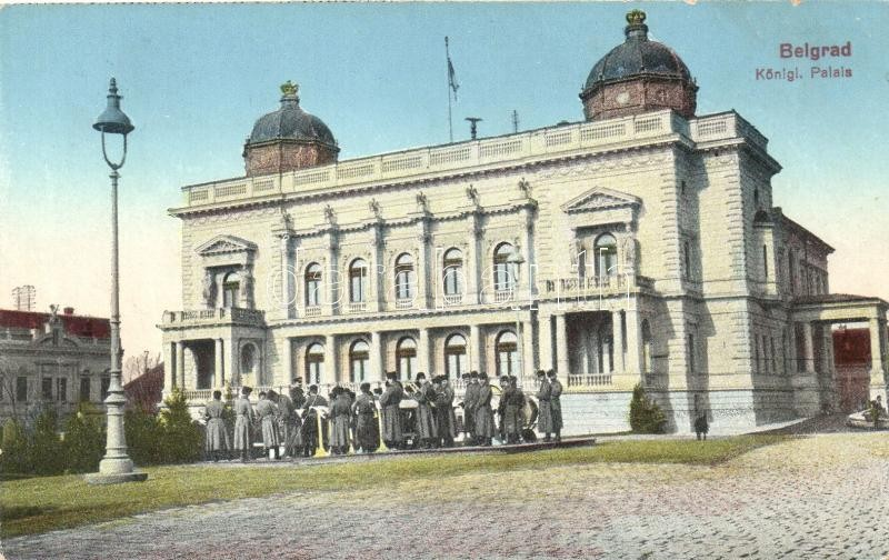 Belgrade palace