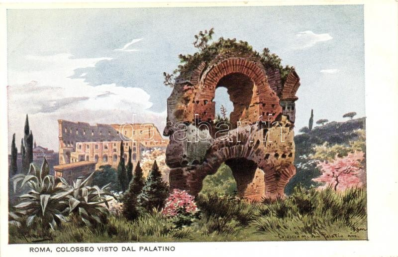 Rome, Roma; Colosseum, No. 2.