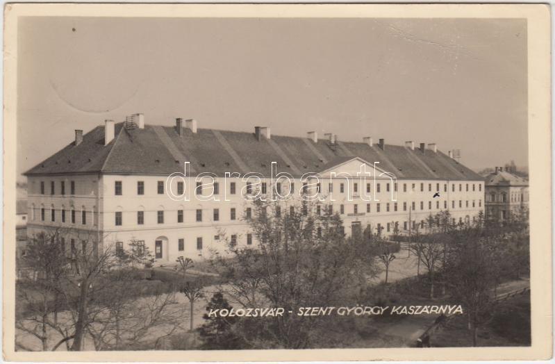 Cluj-Napoca, barracks, Kolozsvár, Szent György Kaszárnya