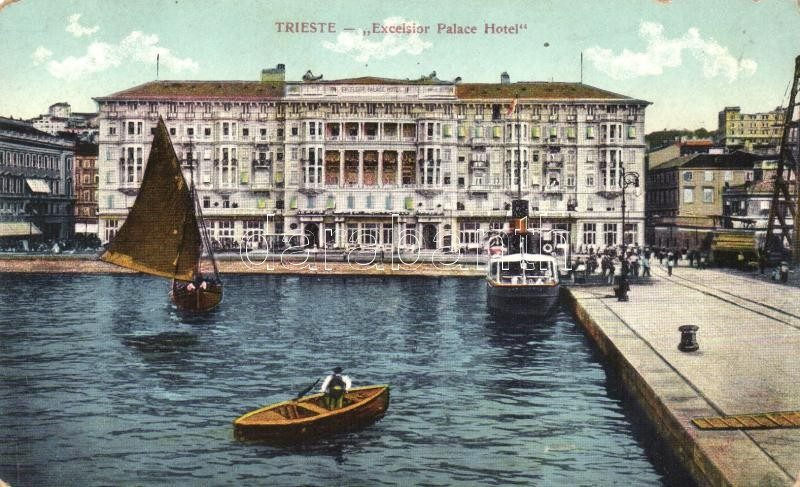 Trieste, Excelsior Palace Hotel, port