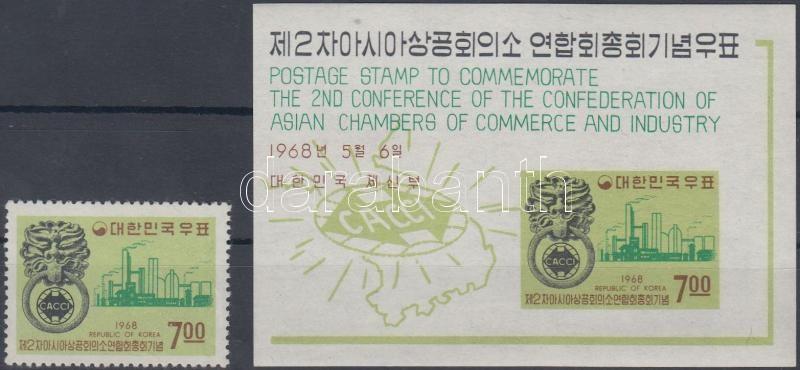 Congress of Asian Chambers of Commerce and Industry + block, Ázsiai Ipar és Kereskedelmi Kamarák kongresszusa + blokk