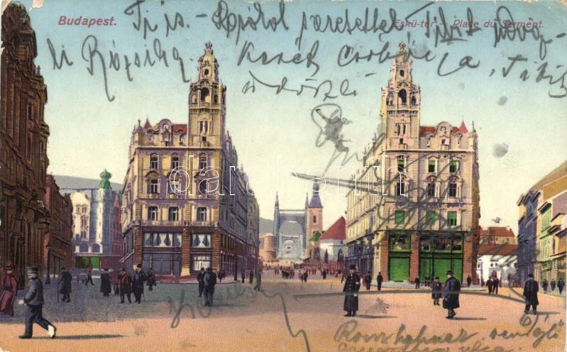 Budapest V. Eskü tér