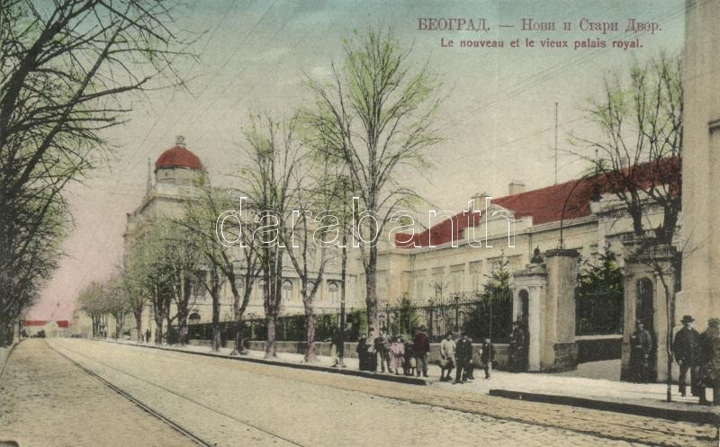 Belgrade, Beograd; Novi i stari dvor / royal palaces