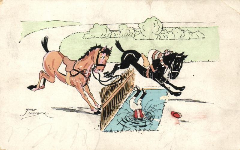 Jockey humor s: Jack Number, Jockey humour s: Jack Number