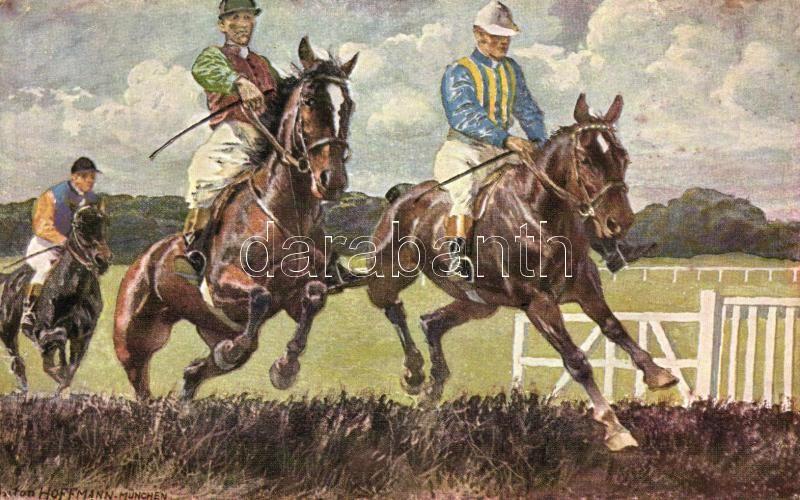 Horse race polo s: Hoffmann, Lovaspóló s: Hoffmann