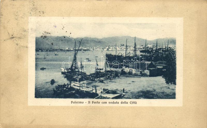 Palermo, Port, ships