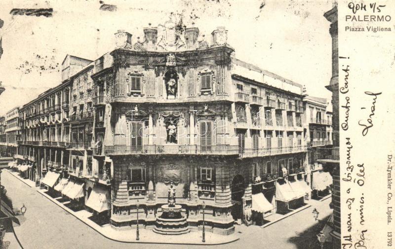 Palermo, Piazza Vigliena / square