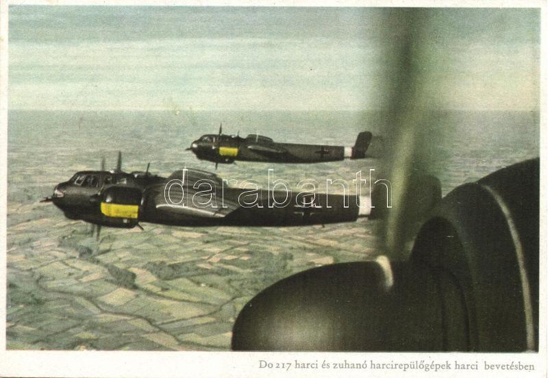 German aircraft, Dornier Do 217 harci és zuhanó harcirepülőgépek