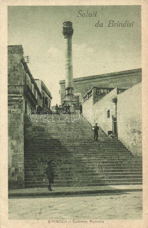 Brindisi, Colonna Romana / column