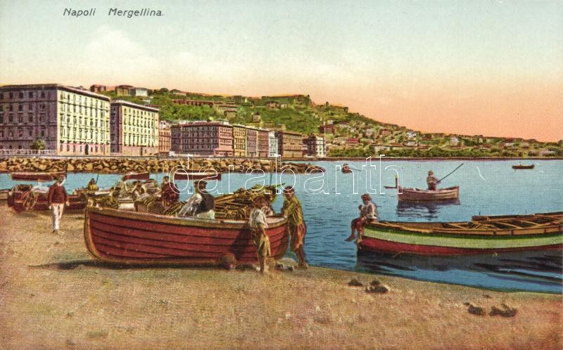Naples, Napoli; Mergellina