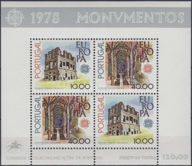Monuments block, Műemlékek blokk