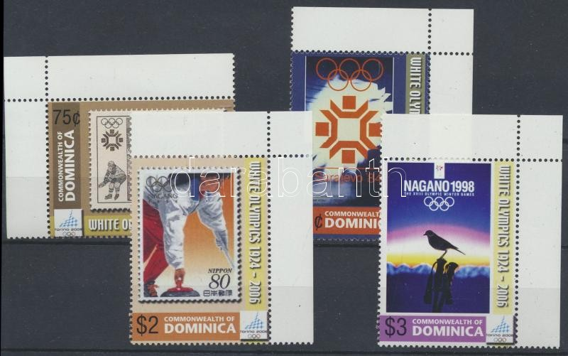 Winter Olympics corner set, Téli Olimpia ívsarki sor