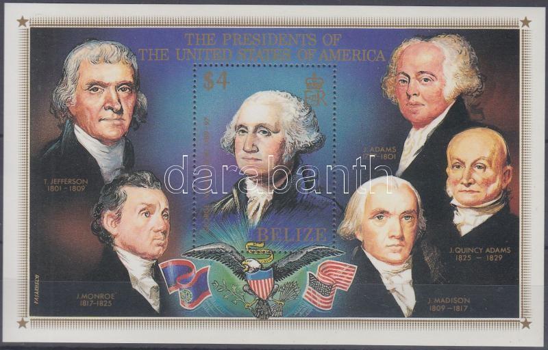 Presidents of the USA block, Az Amerikai Egyesült Államok elnökei blokk