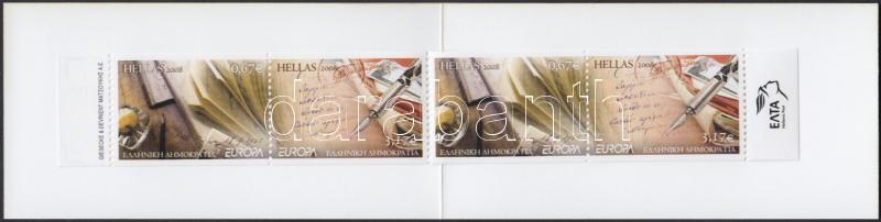 Europa CEPT The letter stamp-booklet, Europa CEPT a levél bélyegfüzet