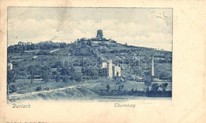 Durlach, Thurmberg castle