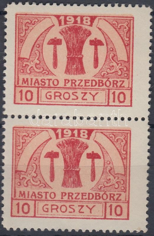 Przedbórz Vertical pair, Przedbórz Függőleges pár