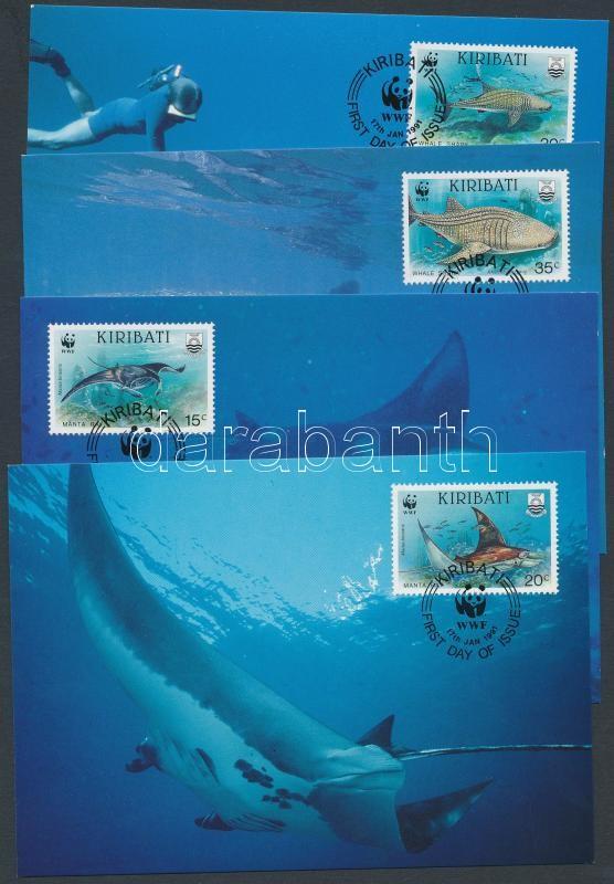 WWF Sea life set 4 CM, WWF tengeri élővilág sor 4 CM