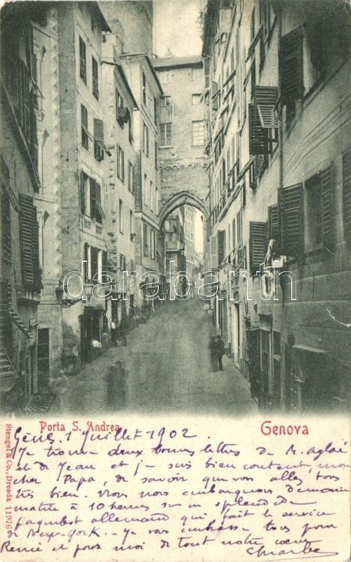 Genova, Porta S. Andrea / gate