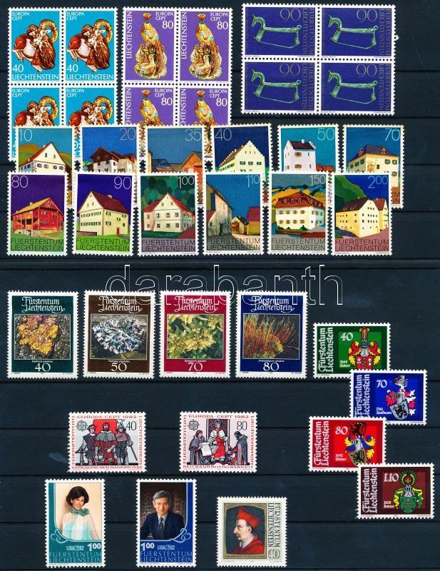 37 stamps woth relations ans sets 2 steckboard, 37 db bélyeg közte összefüggésekkel és sorokkal 2 stecklapon
