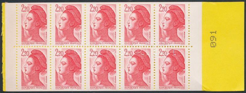 Liberté stampbooklet, Liberté bélyegfüzet