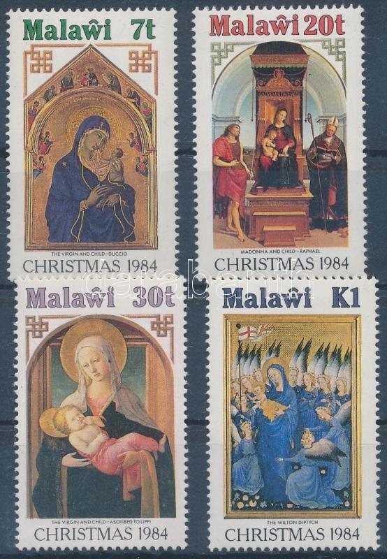 Christmas: paintings set, Karácsony: festmények sor