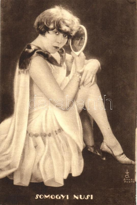 Somogyi Nusi Hungarian actress, Somogyi Nusi