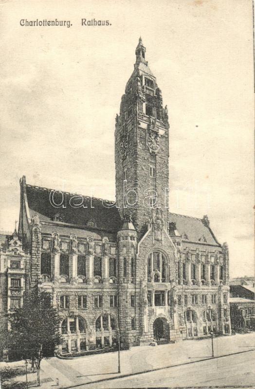 Berlin, Charlottenburg, Rathaus / town hall