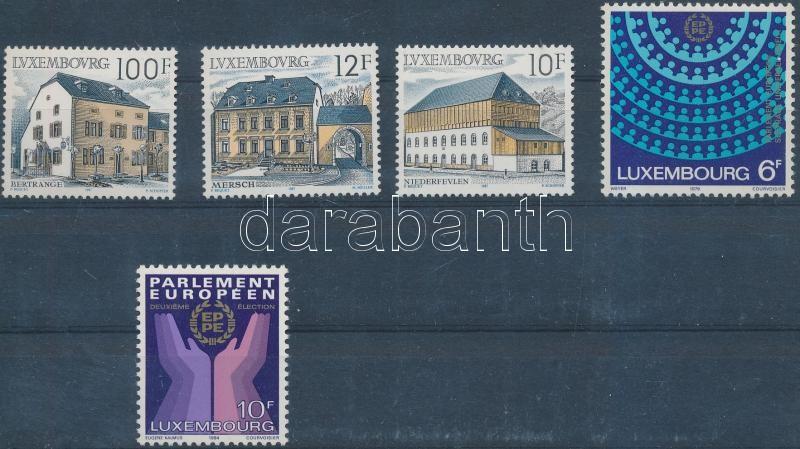 1979-1987 1 set + 2 diff stamps, 1979-1987 1 sor + 2 klf önálló érték