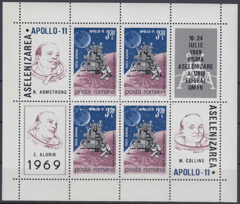 Apolló 11 blokk, Apollo 11 blocks