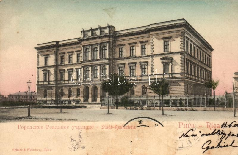 Riga, Stadt-Realschule / secondary school