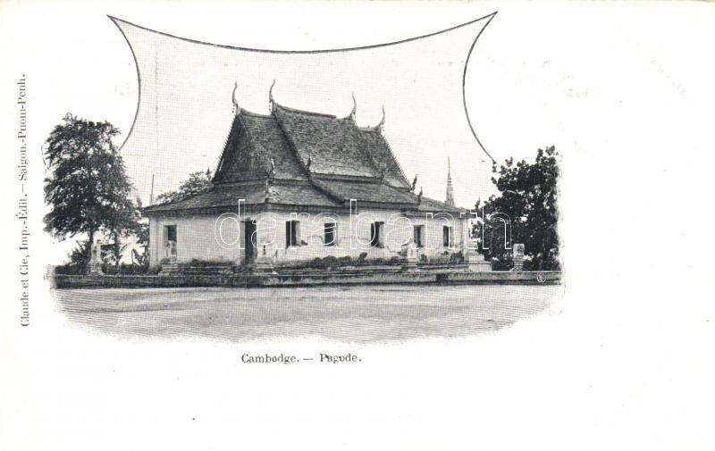 Cambodge, pagode