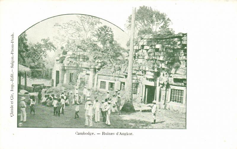 Angkor, ruins