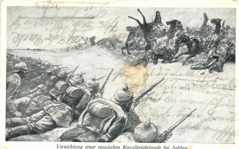 Battle of Soldau, Russian cavalry brigade s: Curtschulz, Soldau csata, orosz lovas dandárok s: Curtschulz