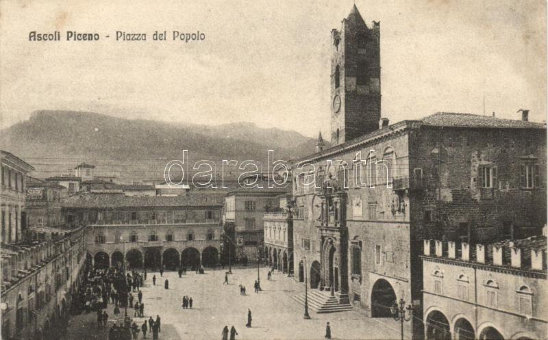 Ascoli Piceno, Piazza del Popole / square
