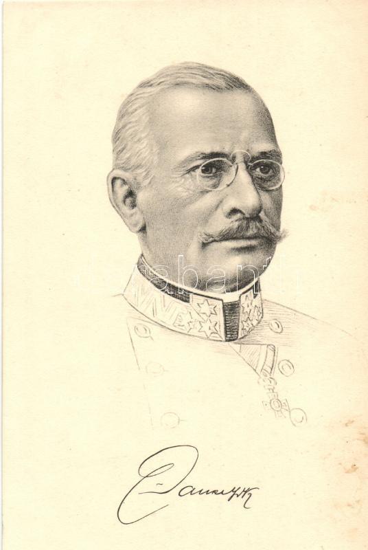 Viktor Dankl von Krasnik cs. és kir. vezérezredes, General Dankl
